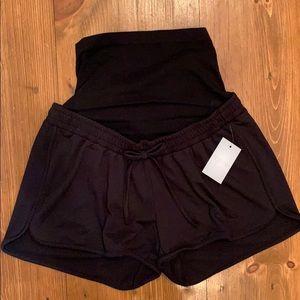 NWT Maternity lounge shorts